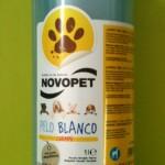Champú Novopet perro blanco 1 litro