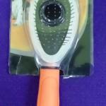 Cepillo metálico naranja