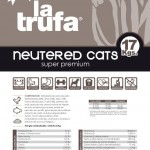 La Trufa Neutered Cats super premium