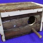 Nido periquitos madera natural Trixie