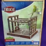 Parque inseparables y ninfas en madera natural Trixie 2