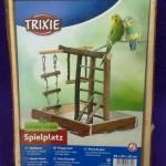 Parque para inseparables y ninfas en madera natural Trixie